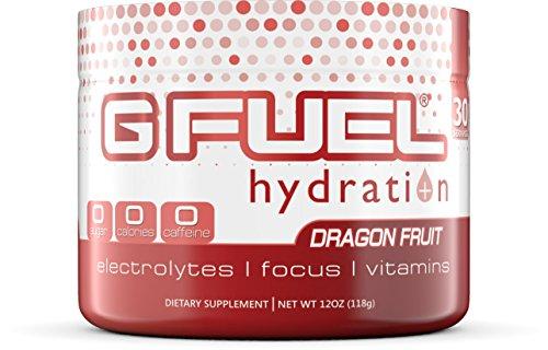 G Fuel Hydration Dragon Fruit Punch Tub Elite Hydration Formula
