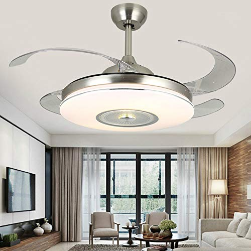 Lighting Groups Invisible Ceiling Fans with LED Light