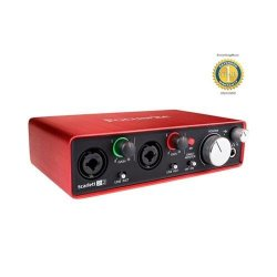 Focusrite Scarlett 2i2 Second Generation (2nd Gen) 2-in