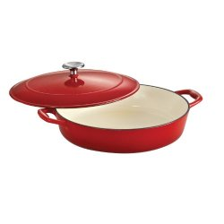 Tramontina Enameled Cast Iron Covered Braiser