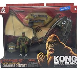 Kong Skull Island Creature Contact Playset With Winged