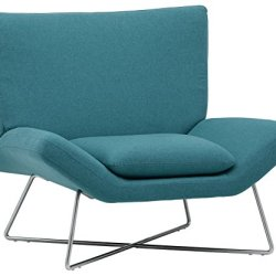 Rivet Farr Lotus Accent Chair, Aqua