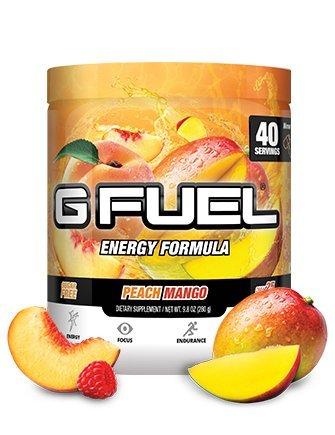 G Fuel Peach Mango Tub Elite Energy and Endurance Formula
