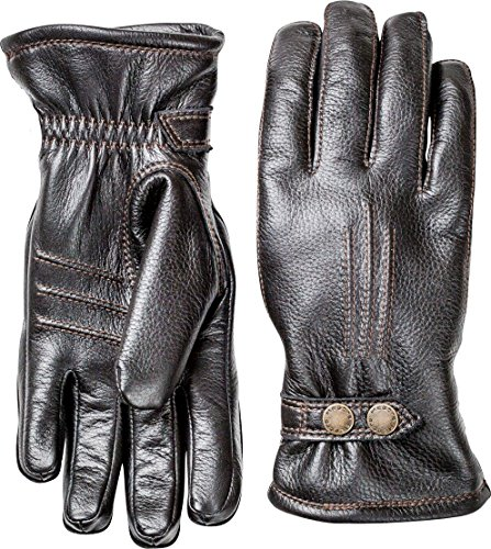 Hestra Mens Leather Gloves: Tallberg Winter Cold