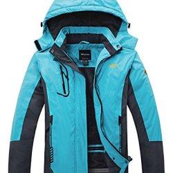 Wantdo Women's Waterproof Mountain Jacket Fleece
