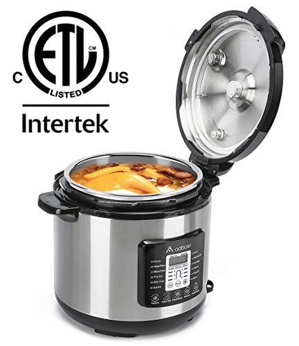 Aobosi Pressure Cooker 8QT 8-in-1 Electric Multi-cooker