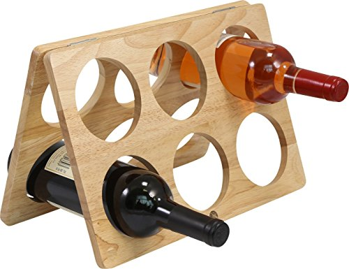 Primeware Counter-top Wine Rack - 6 Bottle Decorative