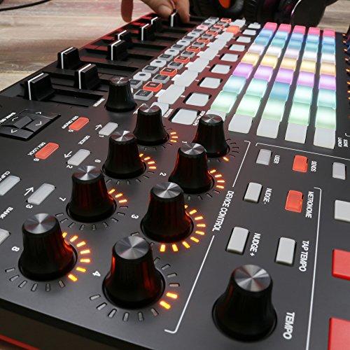 Akai Professional MKII | Ableton Performance Controller Akai Professional APC40 MKII | Ableton Performance Controller with Ableton Live Lite Download (5x8 RGB Clip-Launch Grid).