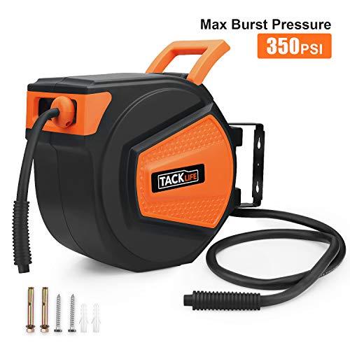 Tacklife Air Hose Reel, 350PSI MAX Burst Pressure