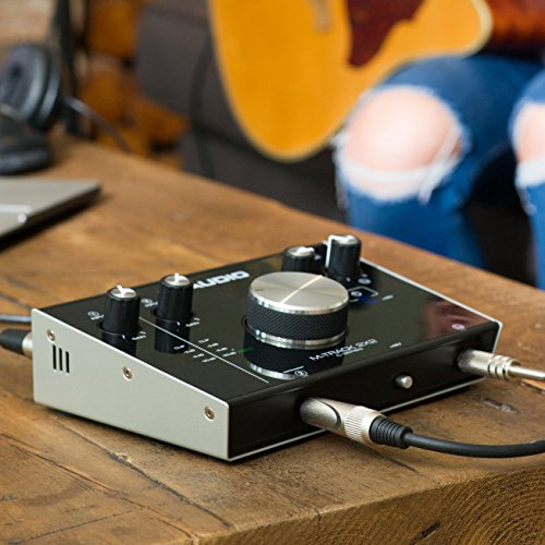 M-Audio M-Track 2X2 C-Series   2-in/2-out USB Audio Interface M-Audio M-Track 2X2 C-Series   2-in/2-out USB Audio Interface (24-bit/192kHz).