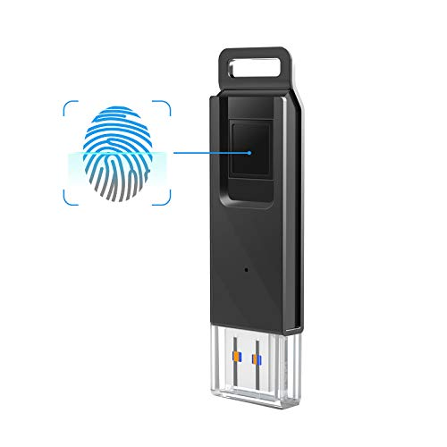 KOOTION 128GB High Speed Recognition Fingerprint Encrypted