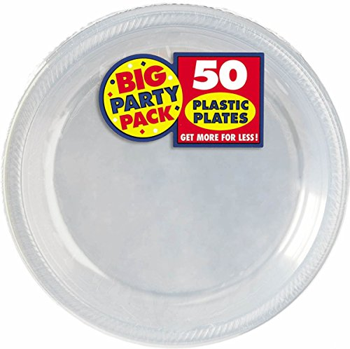 Big Party Pack Clear Plastic Plates | 10.25""