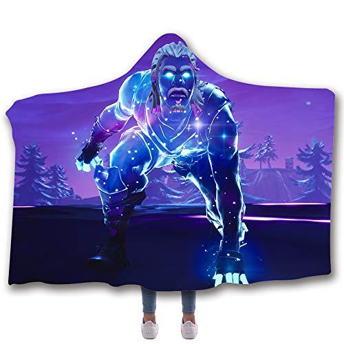 Allan J Beasle Super Soft Hooded Blanket