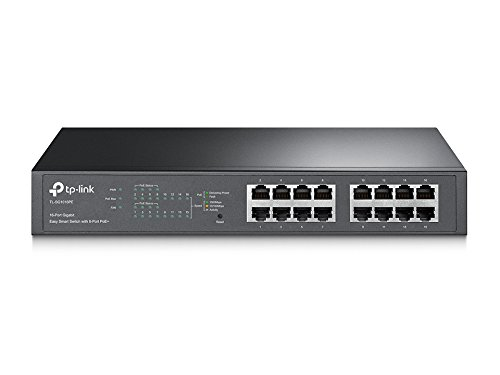 TP-Link 16-Port Gigabit PoE+ Easy Smart Managed Switch