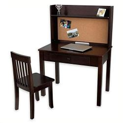 Pinboard Desk with Hutch & Chair