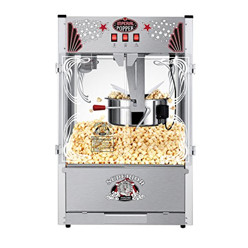 Tabletop Popcorn Maker Machine with 20 Ounce Kettle
