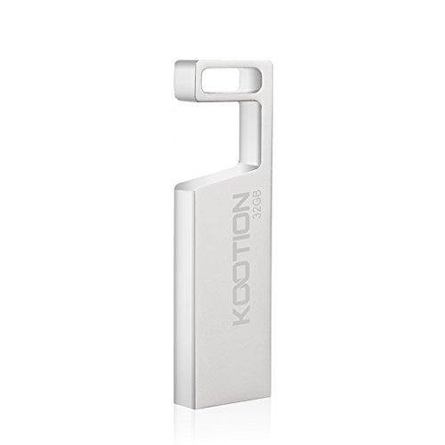 KOOTION 32GB USB Flash Drive Waterproof Metal Memory Stick