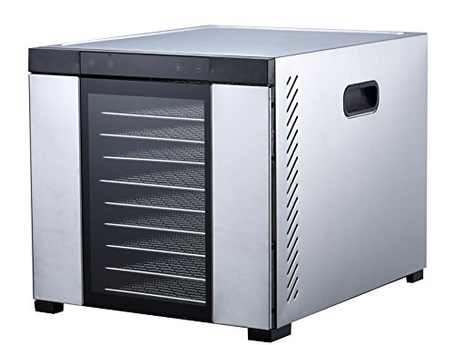 "Samson ""Silent"" 10 Tray ALL Stainless Steel Dehydrator"