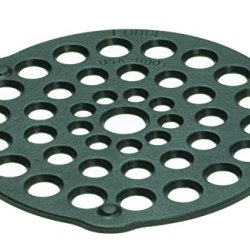 Lodge Cast Iron Meat Rack/Trivet, Pre-Seasoned, 8-inch