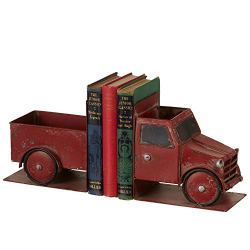 Midwest-CBK Truck Distressed Red Iron Metal Christmas