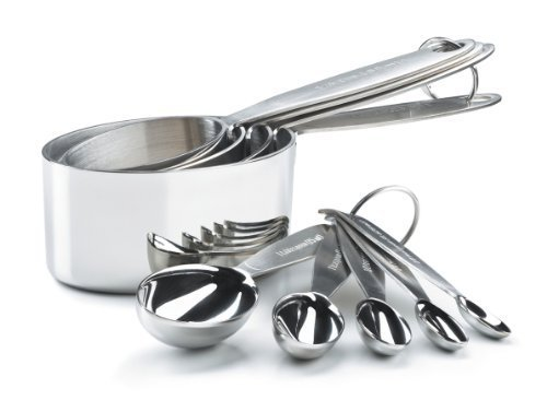 Cuisipro Stainless Steel Measuring Cup and Spoon Set by Cuisipro