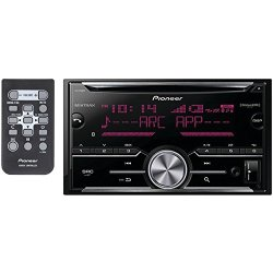 Pioneer Vehicle Cd Digital Music Player Receivers, Black