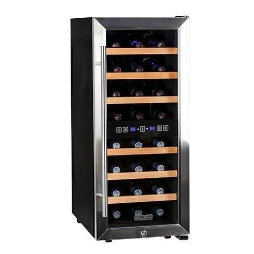 Koldfront Bottle Free Standing Dual Zone Wine Cooler