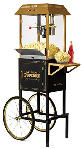 Nostalgia Vintage 10-Ounce Commercial Popcorn Cart