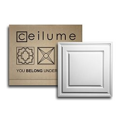 Ceilume 10 pc Stratford Ultra-Thin Feather-Light