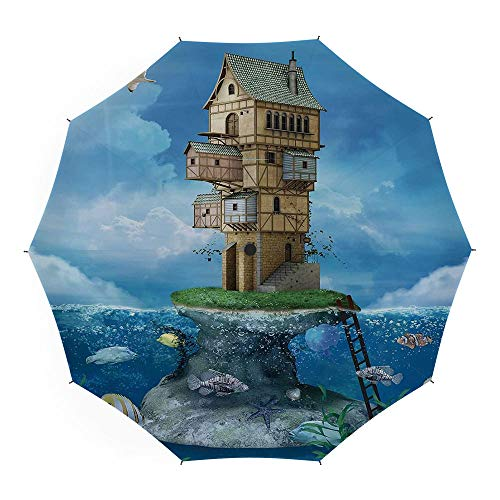 Umbrellas Compact Travel Umbrella Auto Open Close