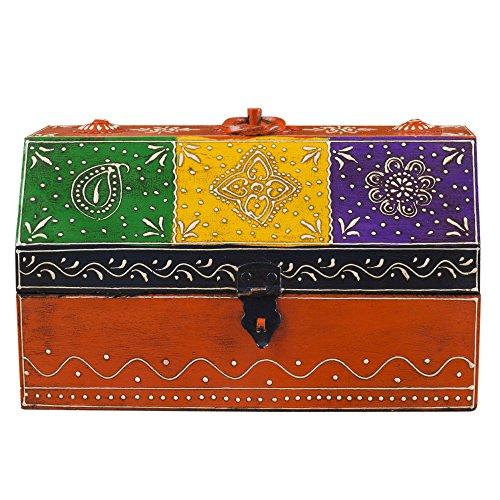 Rusticity Wooden Decorative Box/Jewelry Organizer
