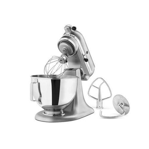 KitchenAid 4.5-Quart Tilt-Head Stand Mixer - Silver Metallic