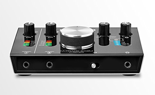 M-Audio M-Track 2X2M C-Series | 2-in/2-out USB Audio Interface M-Audio M-Track 2X2M C-Series | 2-in/2-out USB Audio Interface with MIDI (24-bit/192kHz).