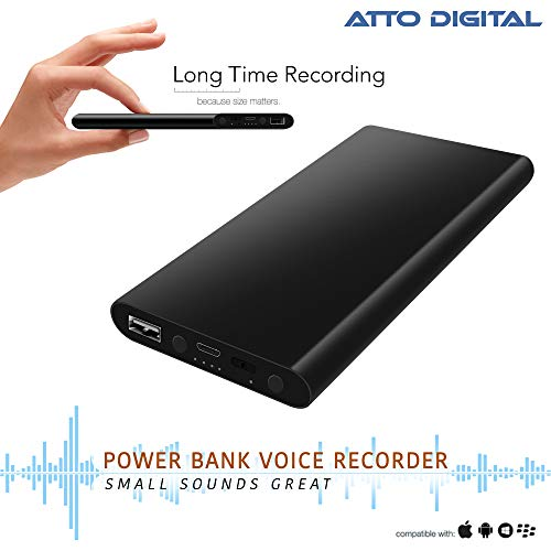 Voice Activated Recorder – Great Battery Life