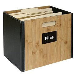 G.U.S. Decorative Office File Box For Letter Size