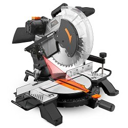 Tacklife 15-Amp 12-inch Single Bevel Compound Miter Saw