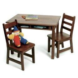 Lipper International Child's Rectangular Table