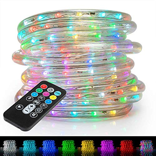 """West Ivory 1/2"""" (100' feet) Multi-Colors + 8 Color Modes"""