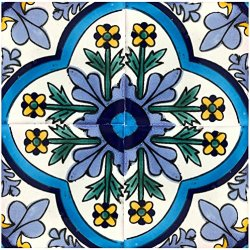 Rustico Tile and Stone Dolores Talavera Box of 45