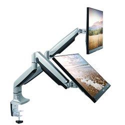 TechOrbits Dual Monitor Mount Stand - SmartSWIVEL
