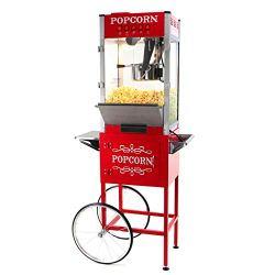 Paramount 16oz Popcorn Maker Machine & Cart