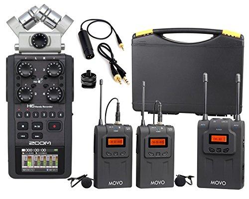 Zoom H6 Six-Track Portable Handy Recorder Bundle