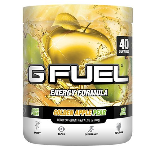 G Fuel Golden Apple Pear Tub Elite Energy