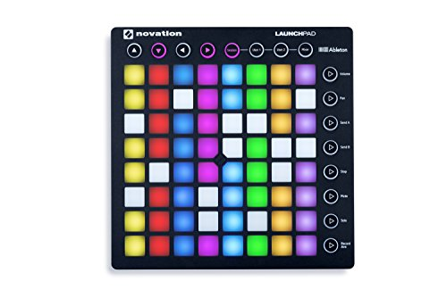 Novation Launchpad Ableton Live Controller Novation Launchpad Ableton Live Controller with 64 RGB Backlit Pads (8x8 Grid).