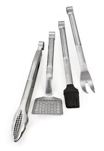 Cuisipro Stainless Steel 4-Piece Barbecue Set by Cuisipro
