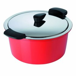 Kuhn Rikon 3-Quart Hotpan Casserole, Red