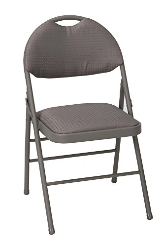 Cosco Products Commercial Comfort Back Fabric Folding Chair
