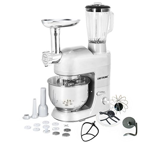 CHEFTRONIC Stand Mixer Tilt-Head 120V/650W Electric