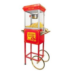 FunTime Sideshow Popper 4-Ounce Hot Oil Popcorn Machine