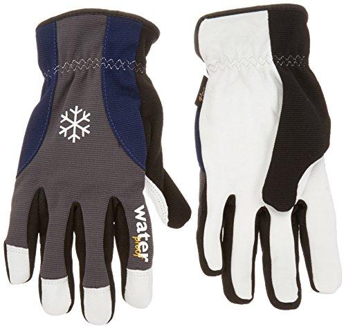 Vgo… Goatskin Leather Waterproof Winter Work Gloves